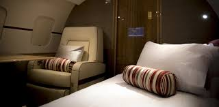 which private jets have flat beds privatefly blog