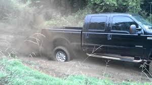 Ford Diesel Trucks Mudding - 6 0 powerstroke 4x4 in 2wd mudding youtube