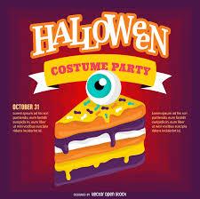 halloween fiesta fiesta de halloween poster descargar vector
