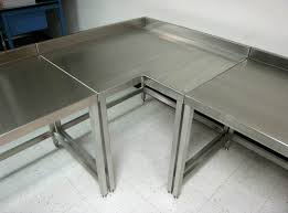 Stainless Kitchen Table by Keep Your Kitchen Clean With Stainless Steel Kitchen Table