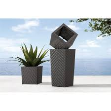 Restaurant Patio Planters by Contemporary Planters In Restaurant Home Decor Inspirations