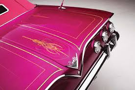 pink convertible cars 1961 chevrolet impala convertible the sweet life lowrider
