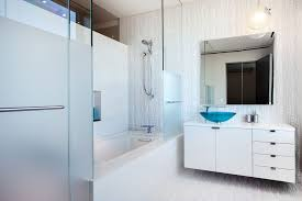 Modern Apartment Bathroom - gorgeous modern apartment above the new york city architecture beast