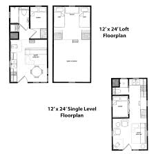 Micro Homes Floor Plans Finished Right Contracting Offers Tiny Home Cabin Kits From 12x12