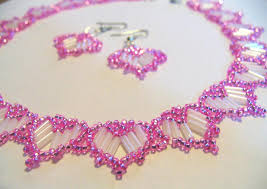 free necklace beading images Free pattern for beautiful beaded necklace barbie beads seed bead jpg
