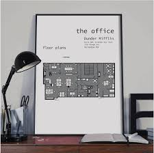 the office floor plans dunder mifflin floor plans tv show