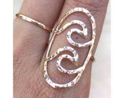 Gold Wave Ring Pura Vida Bracelets Gold Wave Ring