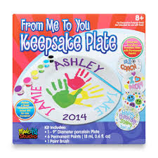 keepsake plate 8 from me to you keepsake plate painting kit