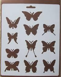 butterfly stencil ebay