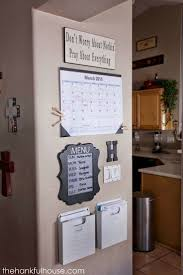 best 25 kitchen message center ideas on pinterest family the hankful house week command center source by paigeashlynx