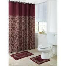 Bathroom Rug Sets Walmart Mainstay Birds Bathroom Accessories U0026 Shower Curtain Set At