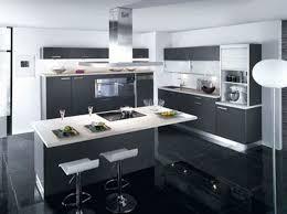 exemple de cuisine moderne cuisine avec ilot central ctpaz solutions à la maison 5 jun