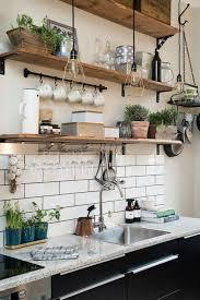 cuisine murale etagere de cuisine murale actourdissant en bois newsindo co