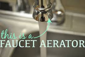 Aerator On A Faucet How To Clean A Faucet Aerator