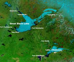 canadian map with great lakes great lake