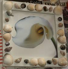 how to make a sea shell photo frame here come the girls