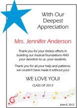 Example Of Thanksgiving Speech Teacher Appreciation Wording Ideas And Sample Layouts Diy Awards