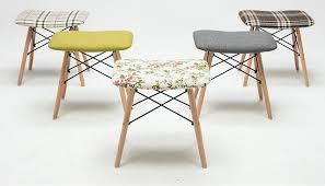 tabouret de chambre ménage tabouret chambre chaise livraison gratuite orange gris
