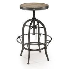 bar stools wood and metal swivel bar stools with adjustable base