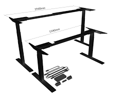 Electric Sit Stand Desk by Electric Sit Stand Frame Only Kits Activdesk