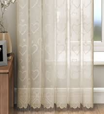 Cream Lace Net Curtains Lace Voile Curtain Panels Memsaheb Net