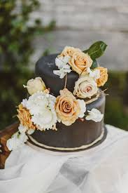 edgy fall elopement inspiration vintage wedding 100 layer cake