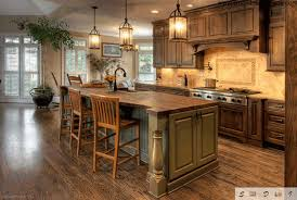 rustic wooden kitchen cabinet pickle green wooden kitchen island