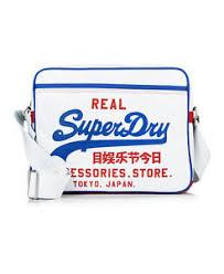 alumni bag new mens superdry mash up alumni bag optic ebay