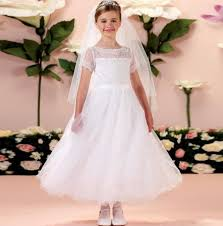 most beautiful holy communion dresses 2017 new ball gown lace