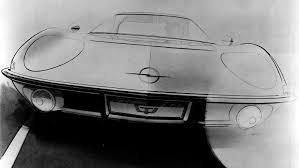 opel car 1965 1965 opel experimental gt concepts