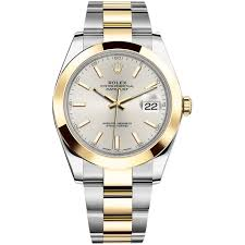 gold rolex oyster bracelet images Rolex datejust ii steel and yellow gold silver stick dial 41mm jpg