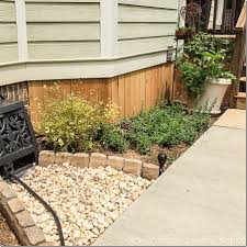 Rock For Garden by A Backyard Makeover With Raised Garden Beds Unskinny Boppy