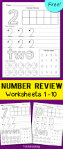 number review worksheets totschooling toddler preschool