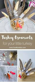 turkey ornaments thanksgiving turkey ornament favors for the thanksgiving kid s table