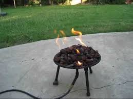 build a propane fire table propane fire pit youtube