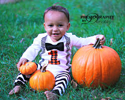 Boys Pumpkin Halloween Costume Boys Birthday Fall Birthday Halloween
