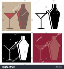 martini shaker vector cocktail shaker vector