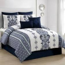 Bed Bath And Beyond Berkeley Buy Inspired By Kravet Aida Queen Comforter Set In Indigo From Bed