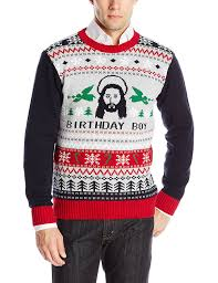 sweater s jesus b day sweater at s
