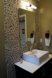 Powder Room Faucets Powder Room Pebbles A U0027s Guide To Diy