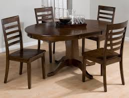 Dining Room Tables With Leaves by Round Dining Table With Leaf Endearing Round Drop Leaf Kitchen