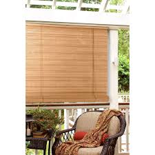 Roll Up Blinds For Windows Radiance Laguna Woven Indoor Outdoor Wood Bamboo Roll Up Shade