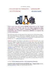 free ccna study guide ccna study summary ip address osi model