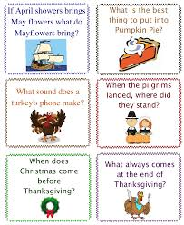 projects ideas thanksgiving riddles printable happy