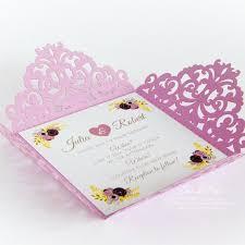 modele carte mariage invitation de mariage de dentelle modèle carte par easycutprintpd