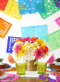 Mexican Decorating Ideas For Home by A Colorful Cinco De Mayo Mexican Fiesta Party Ideas Party