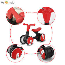 tricycle cartoon mrpomelo baby walker four wheel balance bike kids scooter tricycle