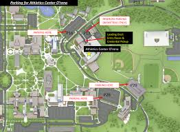 University Of Michigan Parking Map by Goldengrizzlies Com Oakland University Official Athletic Site