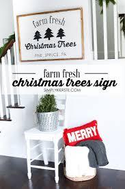 farm fresh christmas trees sign free cut file simply kierste