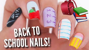 5 back to nail art designs youtube